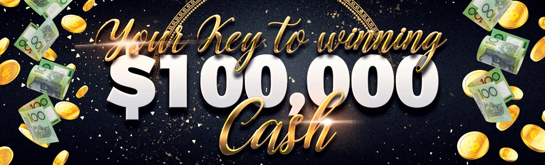 Your Key to Winning $100,000 Cash